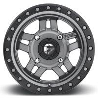 Fuel Anza 14x7 ATV/UTV Wheel - Gunmetal (4/110) 4+3 [D5581470A444]
