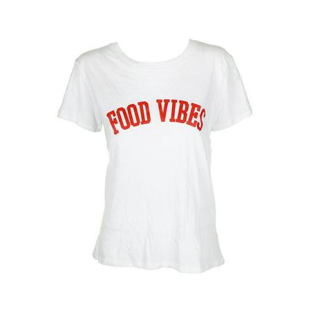 Graphics Food - Sub Urban Riot Womens Food Vibes Graphic T-Shirt
