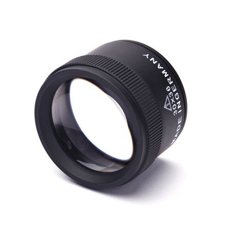 30x36mm Jewelry Optical Magnifier Glasses 30x Magnification Jewel Identification Metal Magnifie Lens Tool - image 3 de 6