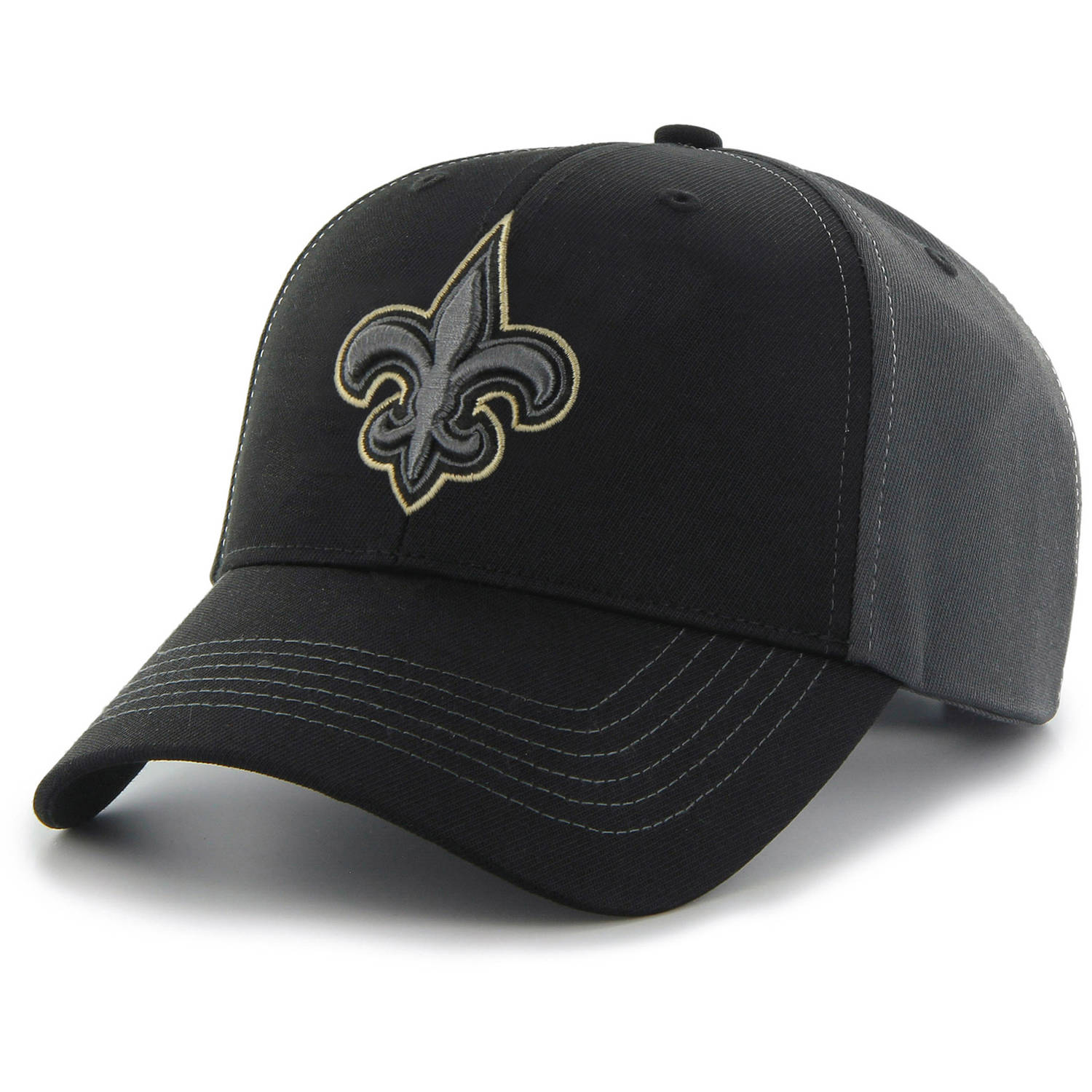 NFL New Orleans Saints Mass Blackball Cap - Fan Favorite