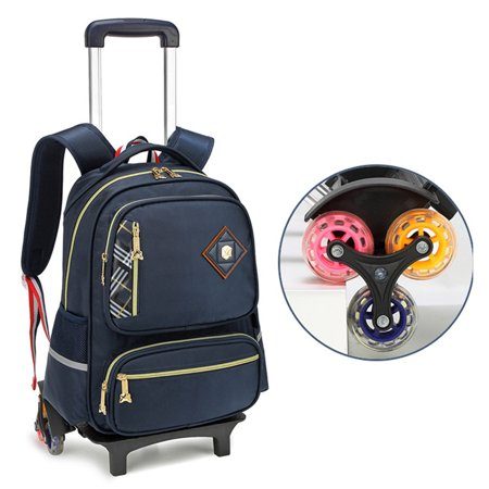 de3e6a9e49bb Coofit - Rolling Backpack, Practical Travel Wheels Backpack Casual ...