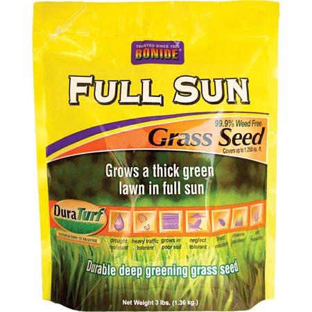 Bonide 60201 3 Lb Full Sun Grass Seed - Impatiens Full Sun