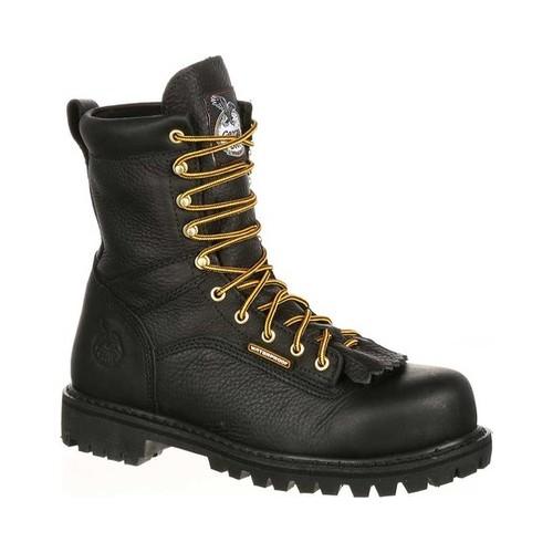 Men's Georgia Boot GBOT078 Lace-To-Toe Steel Toe Waterproof Work Boot