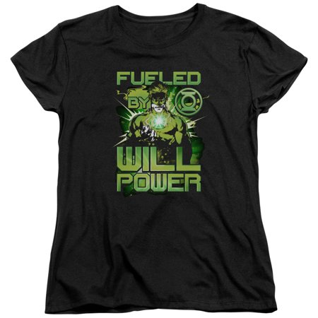 Green Lantern DC Comics Fueled Women's T-Shirt Tee