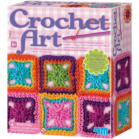 Image of 4M Crochet Art Set