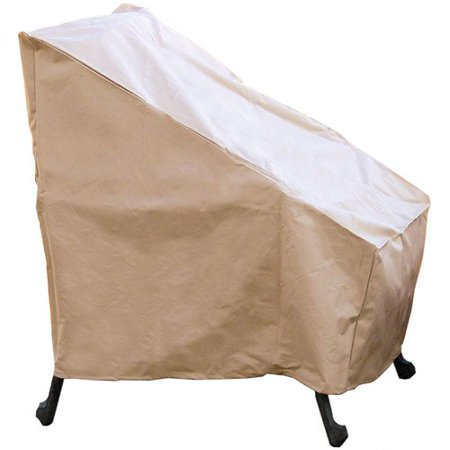 Sure Fit Patio Chair Cover Taupe Walmart Com