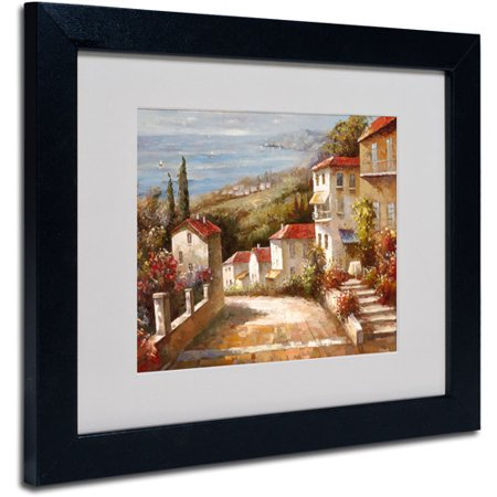 Trademark Fine Art 'Home In Tuscany' Matted Framed Art by Joval