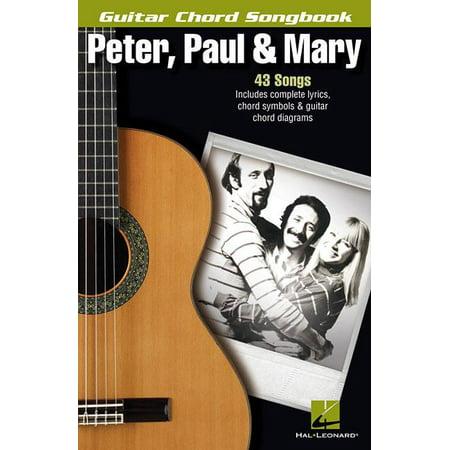 Guitar Chord Songbook Book - Peter, Paul & Mary Guitar Chord Songbook