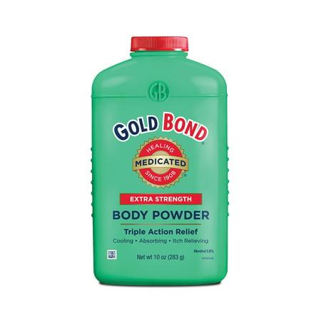 GOLD BOND Extra Strength Medicated Body Powder, 10oz (Kerri Bond)