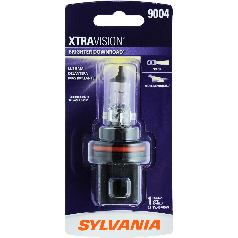 SYLVANIA 9004 XtraVision Halogen Headlight Bulb, Pack of 1