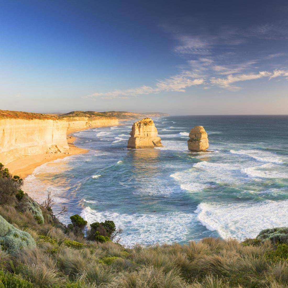 12 X28 Australia Great Ocean Road Painting Hd Print On Canvas Home Decor Wall Garden Poster Home Decor