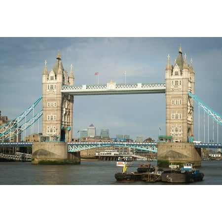 LAMINATED POSTER River Thames Thames Tower Bridge River London Poster Print 24 x 36 - Thames Valley Police Halloween Poster