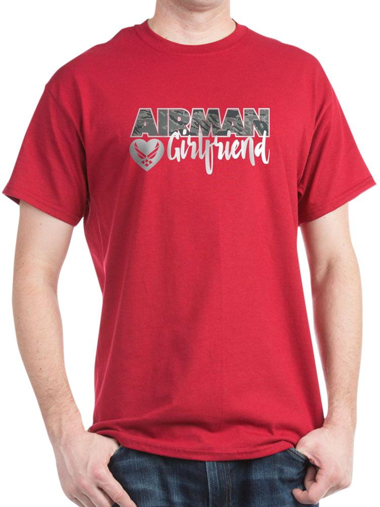 CafePress - Airman Girlfriend - 100% Cotton T-Shirt
