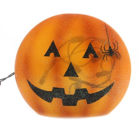 Stony Creek HALLOWEEN LIGHTED ROUND VASE Glass Jack-O-Lantern Hol8261 A](Creepy Background Music For Halloween)
