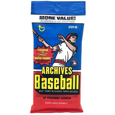 Mlb 2018 Topps Archives Baseball Cards Trading Card Fat Pack