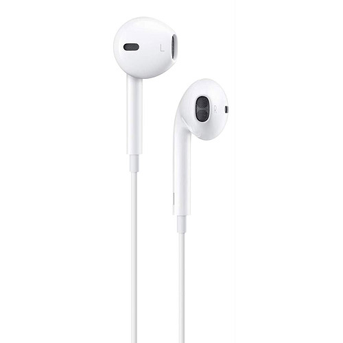 walmart iphone headphones apple earpods with remote and mic md827lla walmart 4947