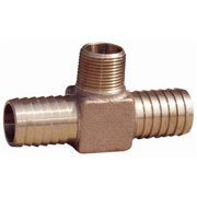 Water Source HT75NL 0.75 in. Insert x 0.75 in. Male Pipe Thread x 0.75 in. Barbed Hydrant Tee