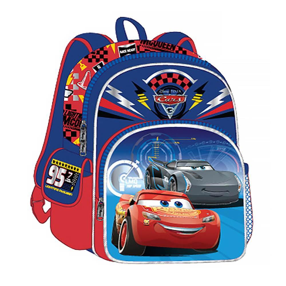 "Disney Cars 3 Cars Movie Winner 3D 12"" Backpack by Zoofy Inl"