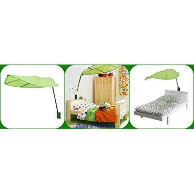 Ikea Lova Kid Bed Canopy Green Leaf With Long Stem