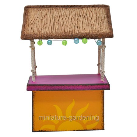Miniature Tiki Hut for Miniature Garden, Fairy Garden](Tiki Hut Supplies)