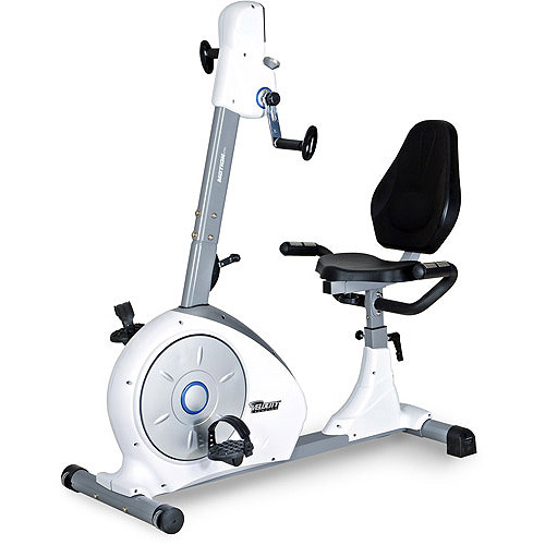 Velocity Exercise Dual Motion Recumbent Exercise Bike