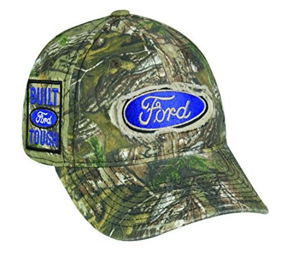 Ford Built Tough Realtree Xtra Camo Frayed Patch Cap