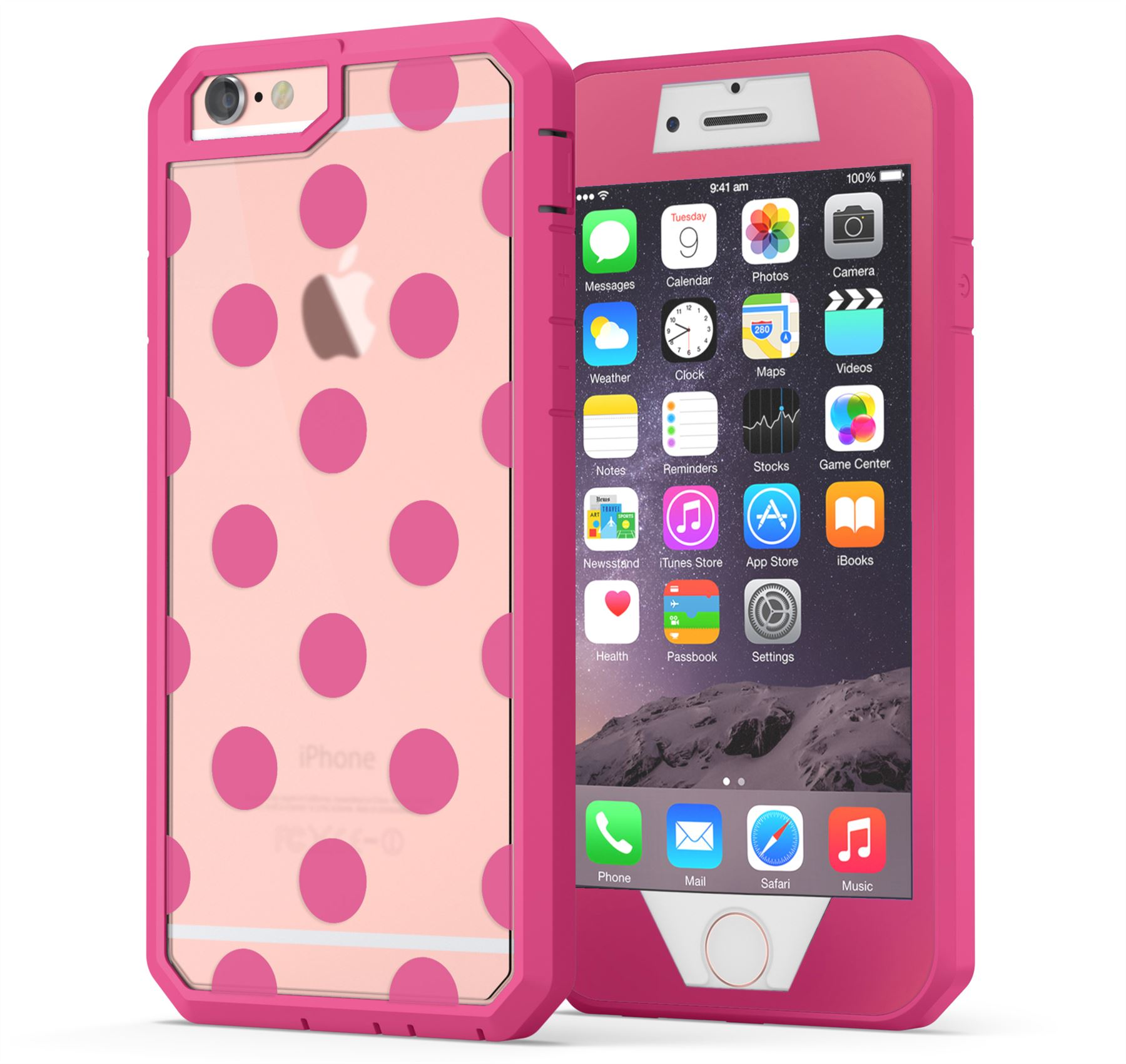 IPhone 6, IPhone 6s Case, True Color Polka Dots [Dots