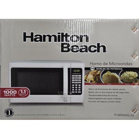 hamilton beach microwave 1000 watts manual