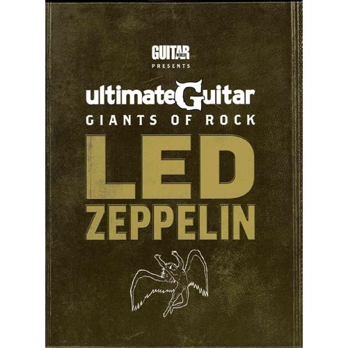 Ultimate Guitar Giants of Rock -- Led Zeppelin: Book & DVD