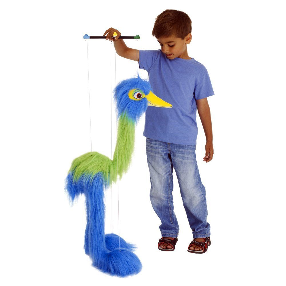 Blue Bird Marionette 37 inch Stuffed Animal by Puppet Company (009403) by Puppet Company