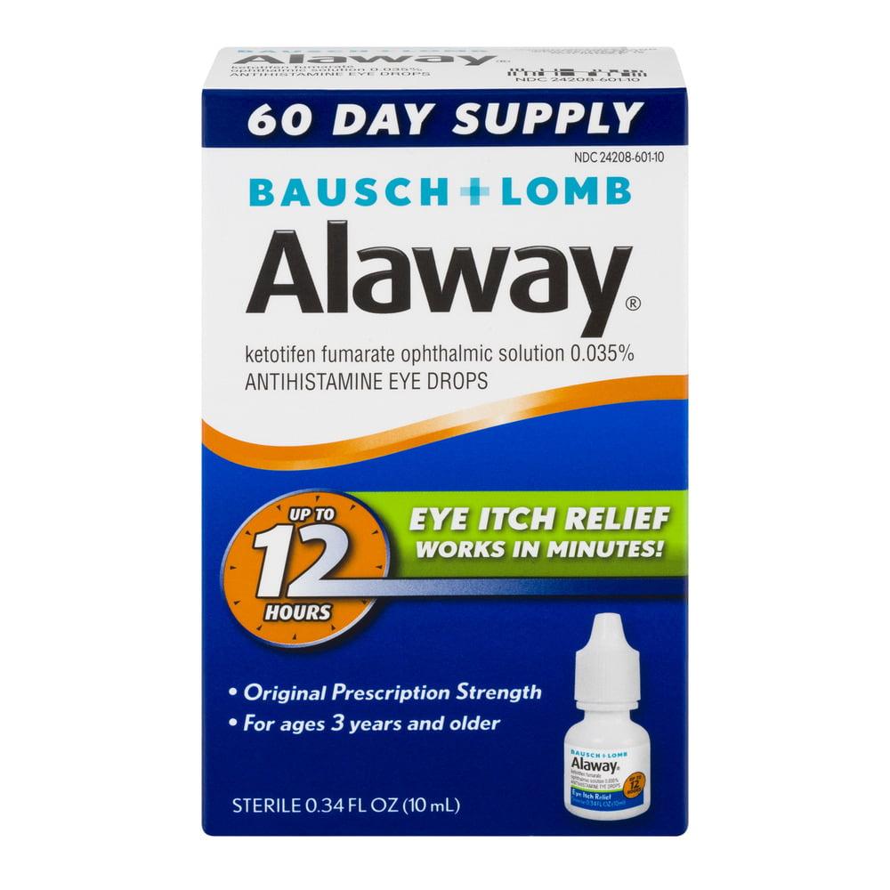 Alaway Eye Itch Relief, 0.34 FL OZ - Walmart.com at Walmart - Vision Center in Sparta, TN | Tuggl