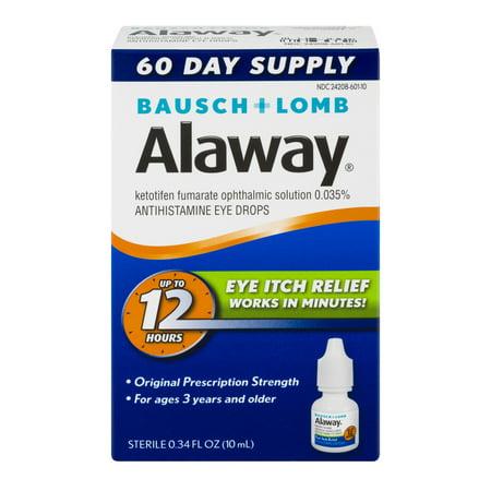 Image of Alaway Eye Itch Relief, 0.34 FL OZ