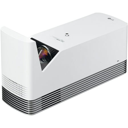 LG HF85JA Ultra Short Throw Laser Smart Home Theater Projector (2017 Model) - White