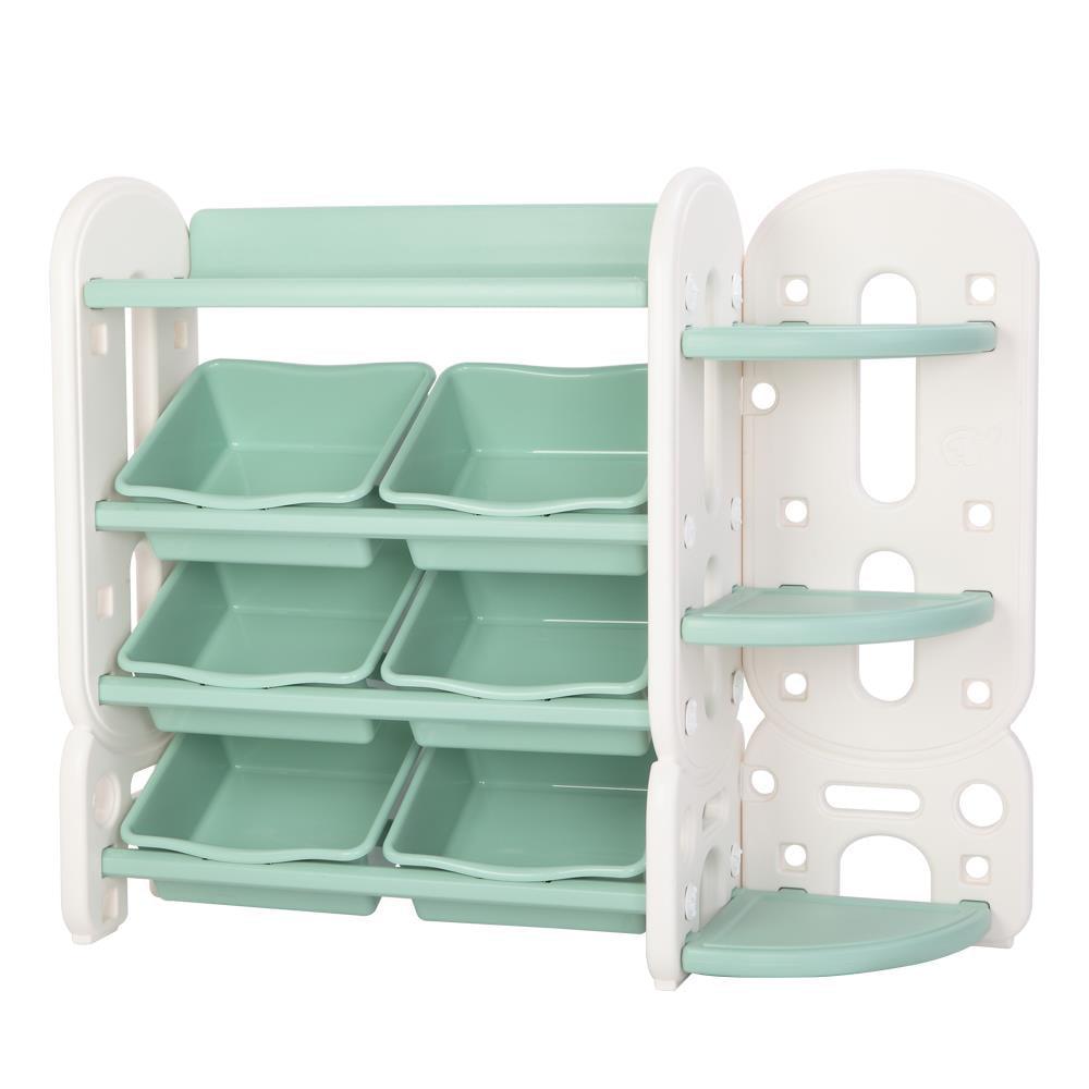 Kids Toy Storage Shelves With Organizer
