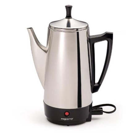 02811 12 Cup Stainless Steel Coffee Maker None Silver  Usa  Brand Presto