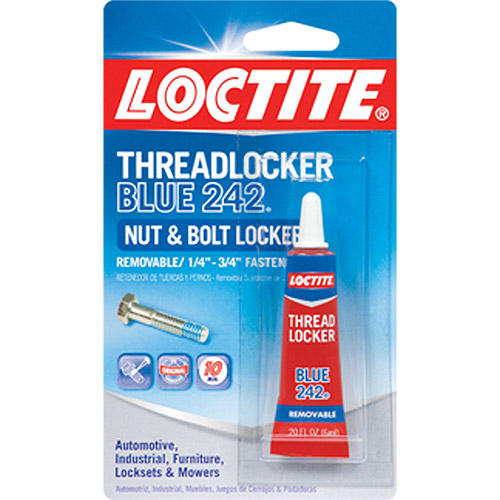 Loctite 0.20-oz Blue Medium Strength Threadlocker