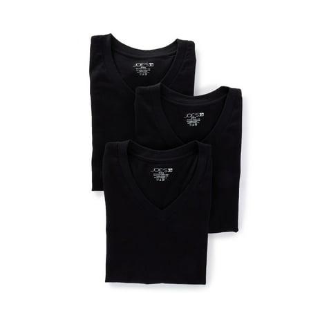 Men's JOE's Jeans Underwear 24300R Premium Cotton V-Neck T-Shirts - 3