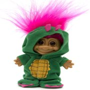 My Lucky Troll Alligator Costume Troll Doll - Hot Pink Hair