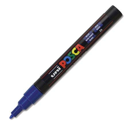 Uni-Posca Paint Markers (Blue Bullet Tip)