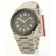 PXH667 Mens Stainless Steel Grey Dial Date 10Atm Casual Watch