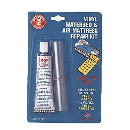 Air mattress patch kit walmart.
