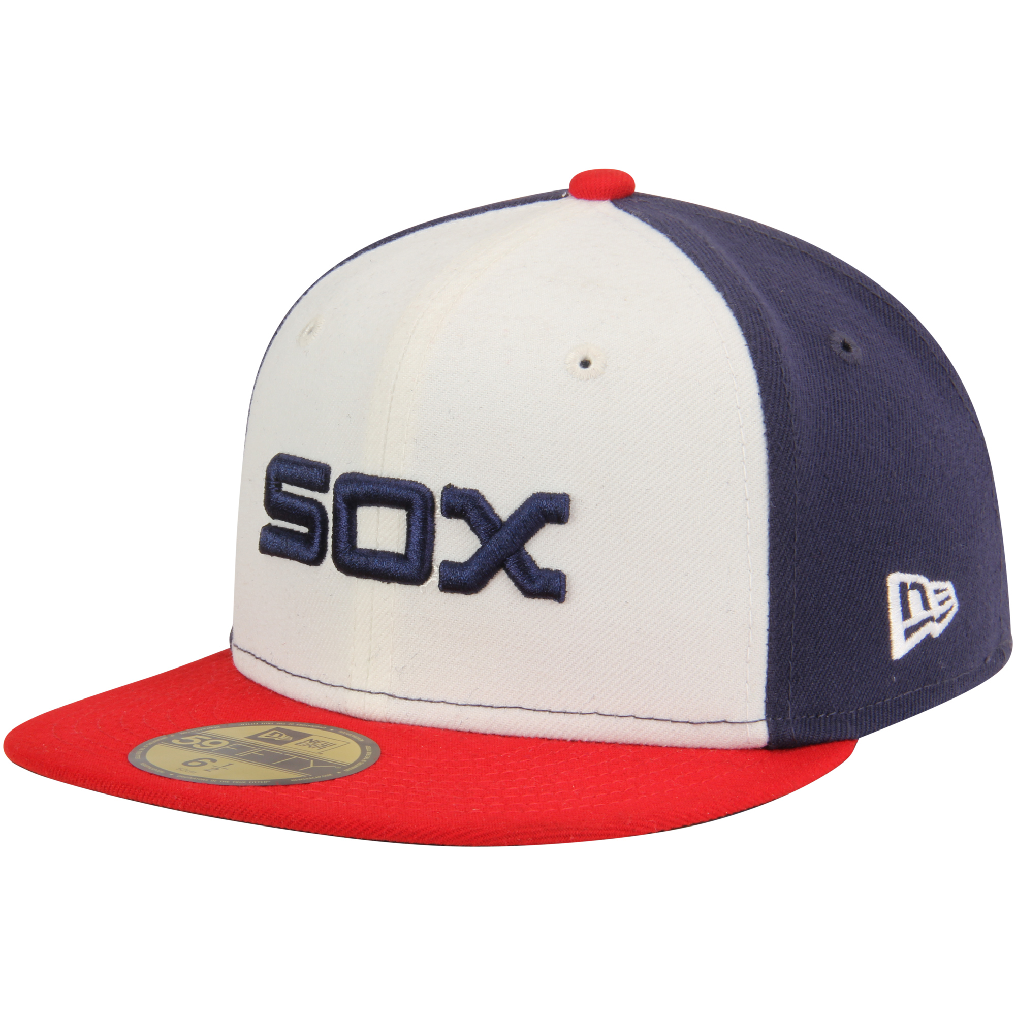 Chicago White Sox New Era Youth Authentic Collection On-Field Alternate 59FIFTY Fitted Hat - White/Navy