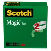 Scotch Magic Tape, 3/4 in. x 2,592 in., 2 Boxes/Pack