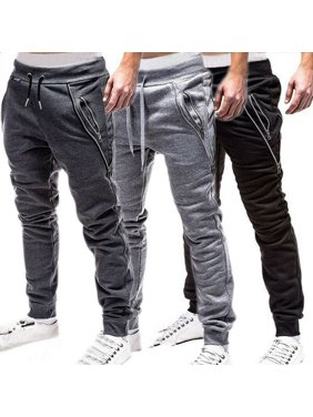 SUNSIOM Men Sport Pants Long Trousers Tracksuit Fitness Workout Joggers Gym Sweatpants