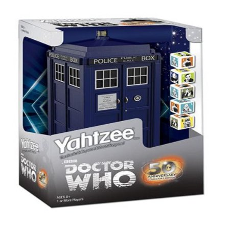 Yahtzee  Doctor Who Collectors Edition