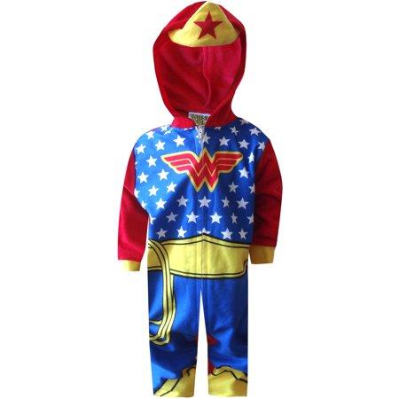 Dc Dc Comics Wonder Woman Toddler Onesie Pajama