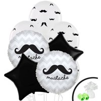 Mustache Man Balloon Bouquet
