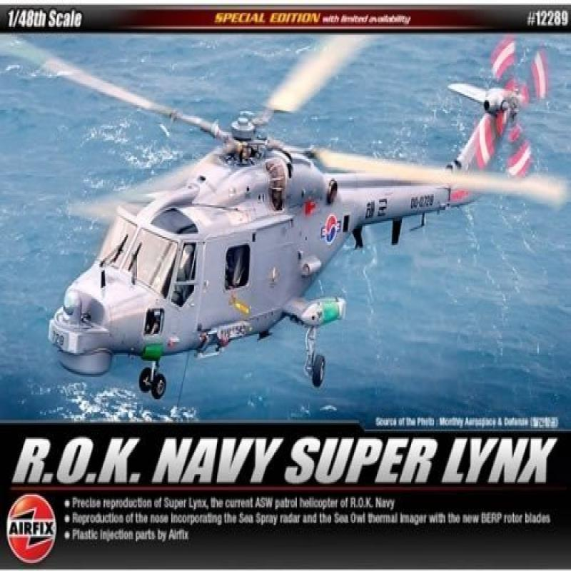 ACADEMY 1 48 scale R.O.K. Navy ASW Helicopter Super Lynx ACA12289 by