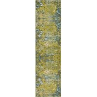 Unique Loom Ivy Jardin Modern Abstract Area Rug or Runner
