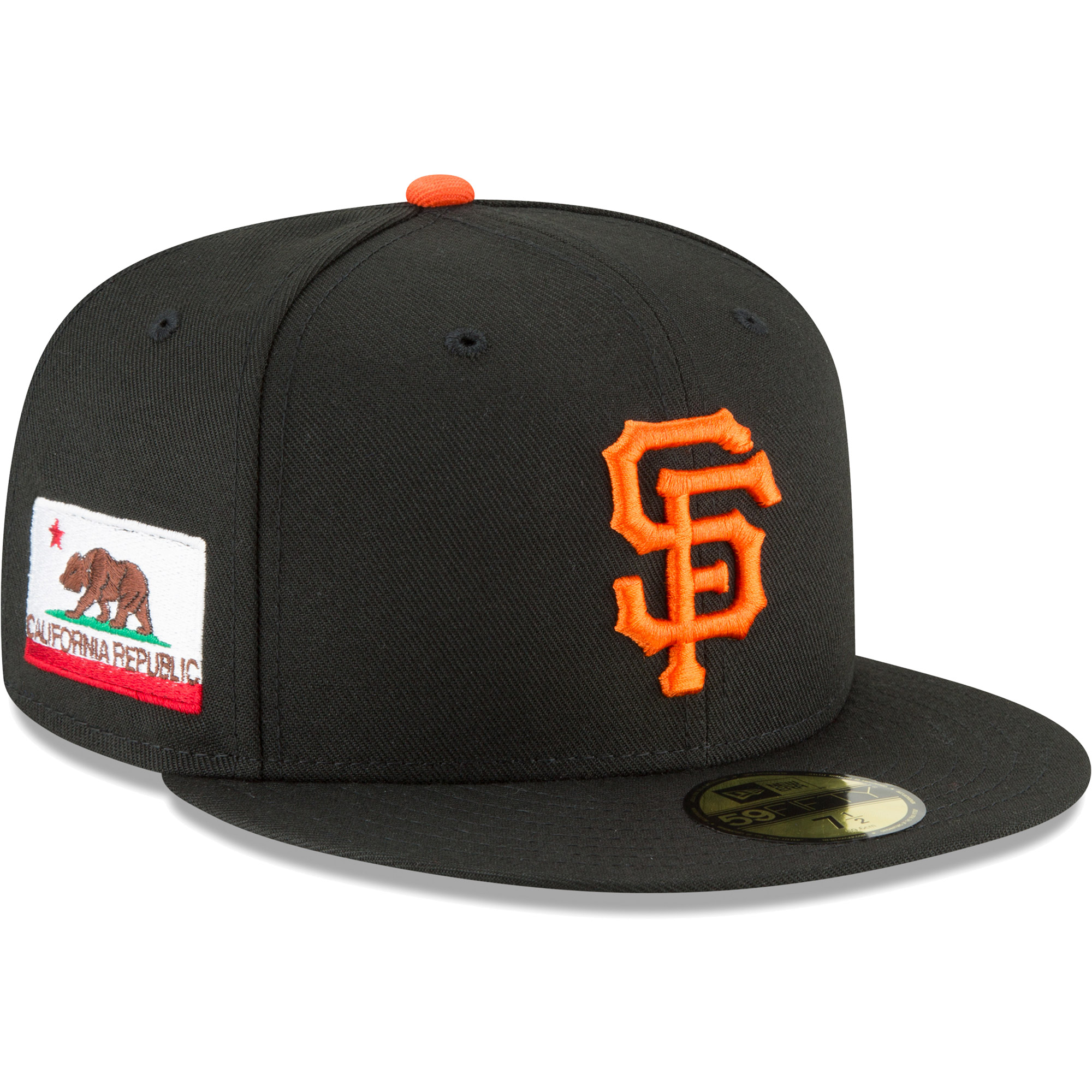 6deb9ceb06267 ... inexpensive product image san francisco giants new era team local  59fifty fitted hat black fb1aa 54955